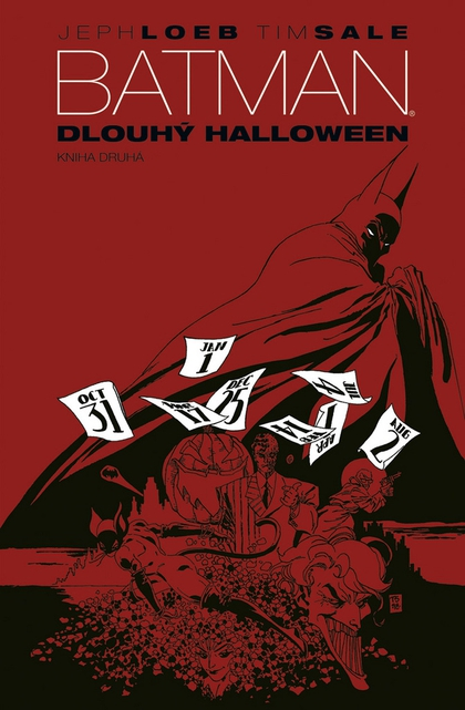 Batman Dlouhý Halloween - Jeph Loeb, Tim Sale