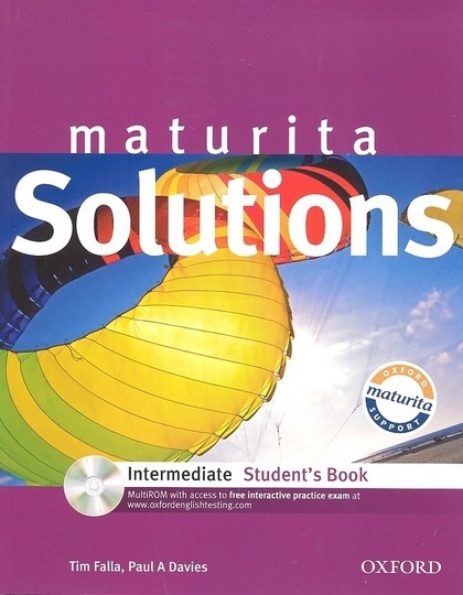 Maturita Solutions Intermediate Student's Book - Tim Falla, Paul Davies
