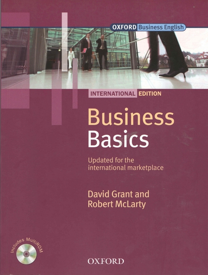 Business Basic International Edition Studen's Book Pack - David Grant, Robert McLarty