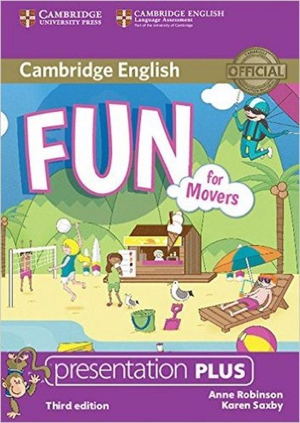Fun for Movers Presentation Plus - Anne Robinson, Karen Saxby