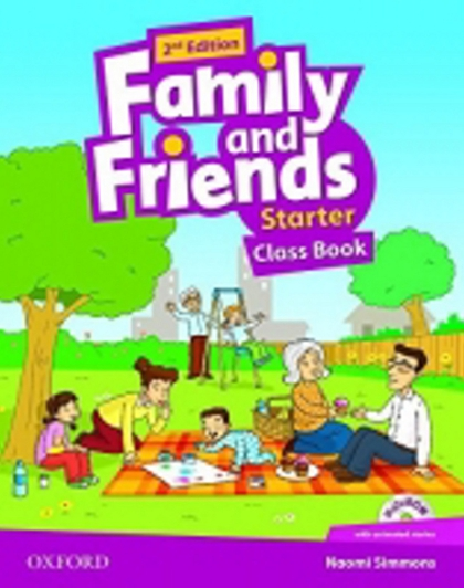 Family and Friends (2nd Edition) Starter Course Book with MultiROM Pack