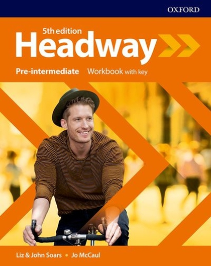 New Headway Fifth Edition Pre-Intermediate Workbook with Answer Key - John a Liz Soars