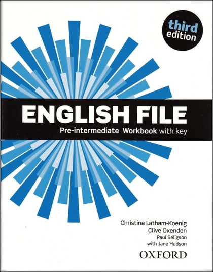 English File Third Edition Pre-intermediate Workbook with Answer Key