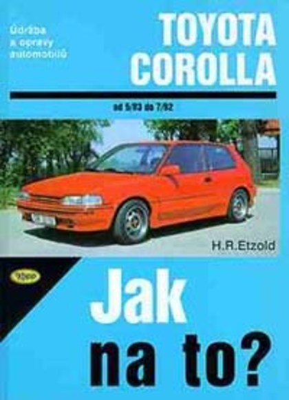 Toyota Corolla od 5/83 do 7/92