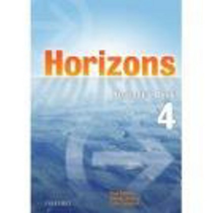 Horizons 4 Workbook Czech Edition - Paul Radley