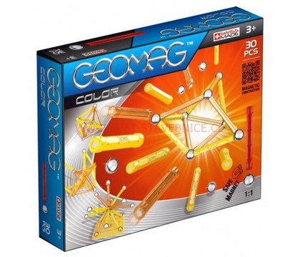 Stavebnice Geomag Color 30 pcs