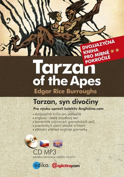 Tarzan of the Apes/ Tarzan, syn divočiny - Edgar Rice Burroughs