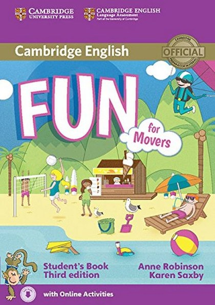 Fun for Movers Student´s Book - Anne Robinson, Karen Saxby
