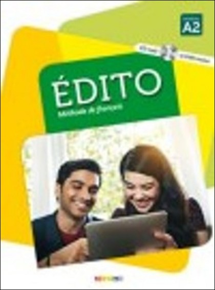 Édito Niveau A2 UČ + CD Mp3 + DVD