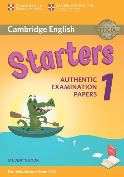 Cambridge English Young Learners 1 Starters Student´s Book - Corporate Author Cambridge English Language Assessment