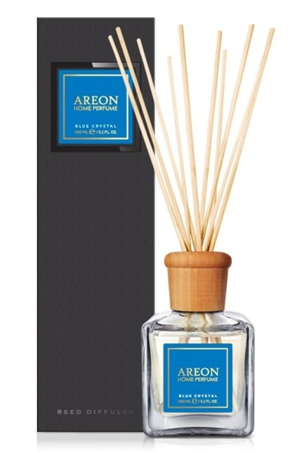 AREON HOME PERFUME BLACK 150ml Blue Crystal