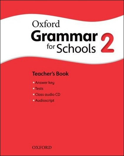 Oxford Grammar for Schools 2 Teacher´s Book with Audio CD - Liz Kilbey