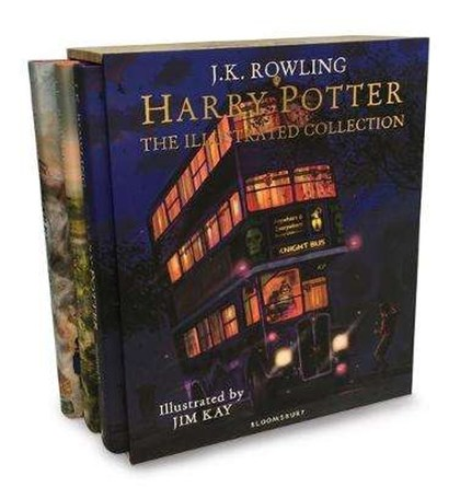 Harry Potter – The Illustrated Collection: Three magical classics - Joanne K Rowling